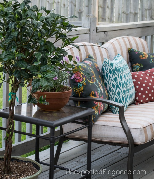 Luxury Frog Tape Patio Furniture Transformation