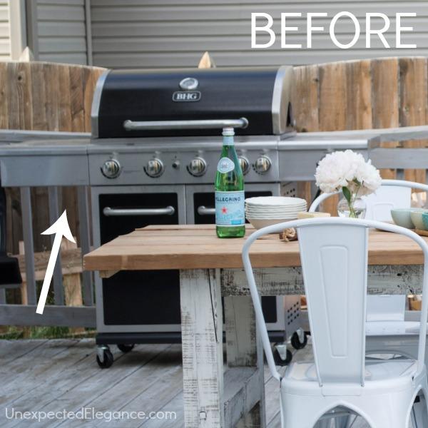 Diy Outdoor Kitchen Frames: DIY Grill Station Using ProBond Advanced