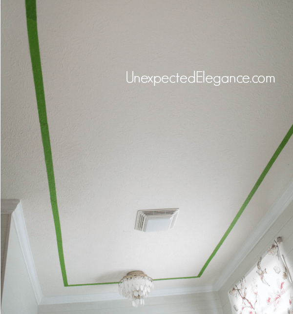 Easily Add Interest to Your Ceiling and Make the Room feel Taller-1-3
