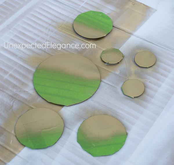West Elm Inspired Gold Mirror-1-4
