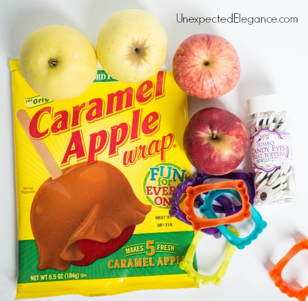 MONSTER Caramel Apples-1