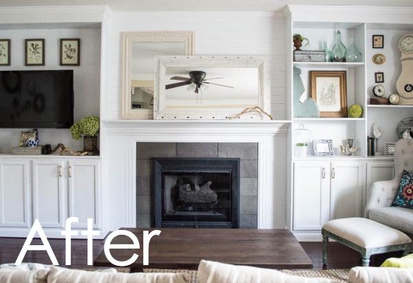 DIY Fireplace Buit-ins-1-14