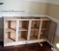 Diy Built In Cabinets Tv, Cheap White 5 Drawer Dresser