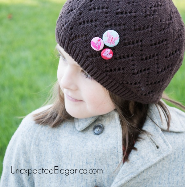 Knit Hat Accessory.  Perfect for gift giving.-1-3