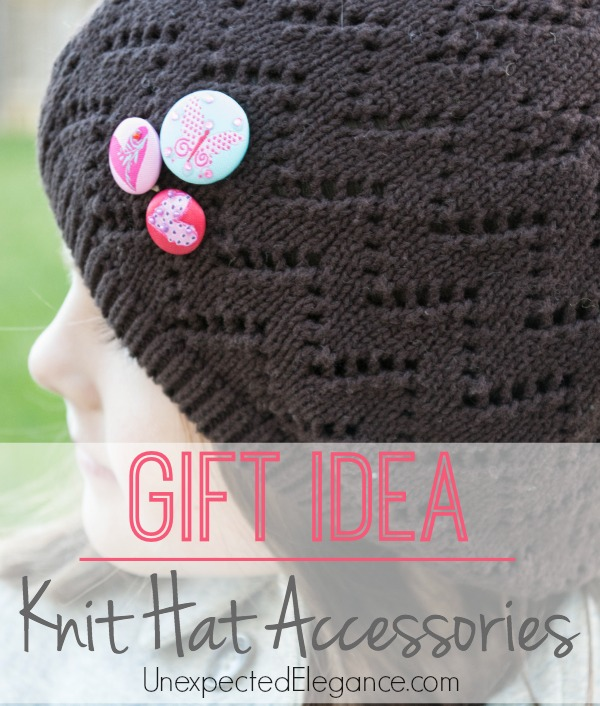 Knit Hat Accessory.  Perfect for gift giving.