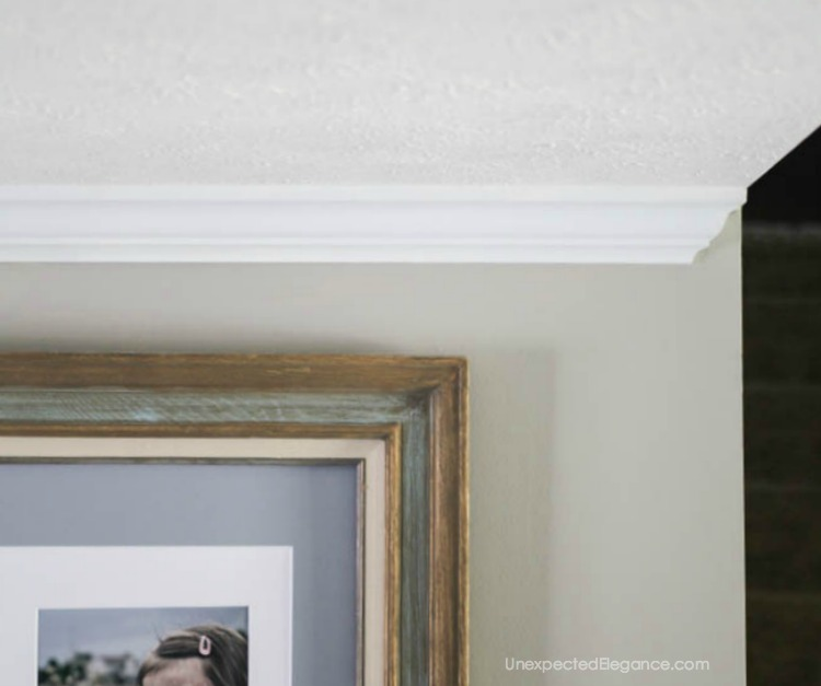 When you have a wall that dead ends, you will need an end cap to your crown molding. Find out the simple trick to easily fix the problem!