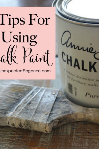 7 Tips for Using Chalk Paint {Video Series}