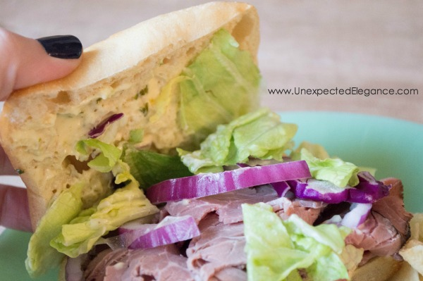 Check out how to make a roast beef and lemon basil aioli sandwich. Holy cow, this sandwich is SO good!! What really makes this outstanding is the lemon and basil aioli...the aioli will take just about any sandwich over the top.