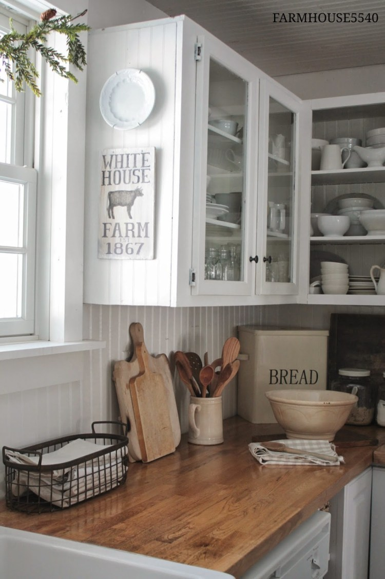 If you have always loved the look of a farmhouse inspired kitchen but aren t Check out these 7 Ideas for Farmhouse Inspired Kitchen