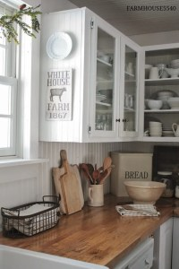 7 Ideas for a Farmhouse Inspired Kitchen {on a BUDGET ...