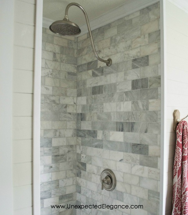 DIY Shower Renovation Using an AMAZING System Unexpected Elegance