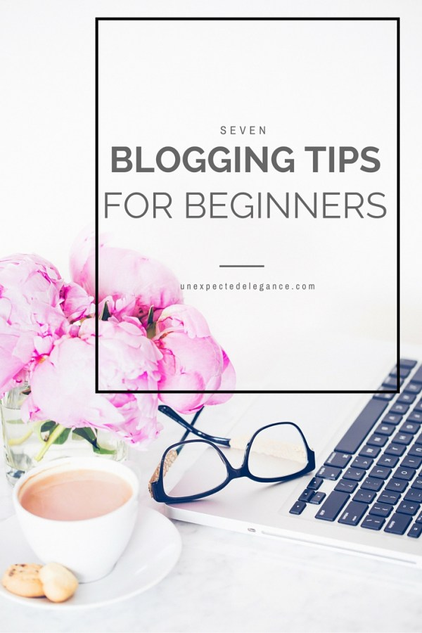 If you're new to blogging, it may seem a little overwhelming with how much information is actually out there on the topic. Here are 7 blogging tips for beginners to help you get started.