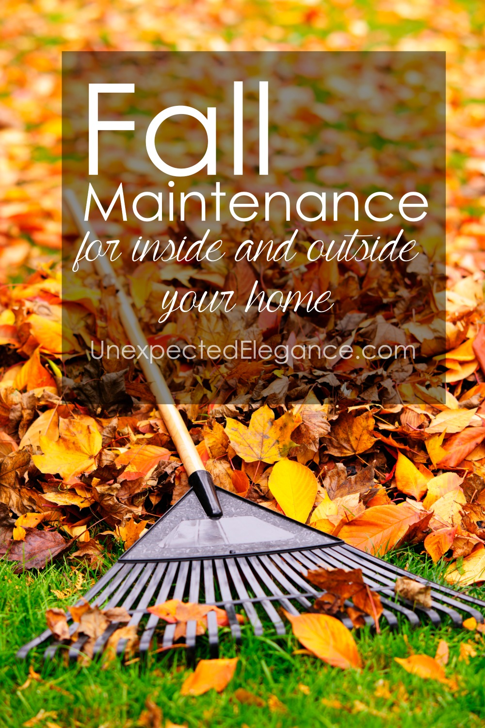 Fall is the perfect time to start maintaining for your home. There are several fall maintenance tips for inside and outside the home, whether it's your lawn or your heating system.