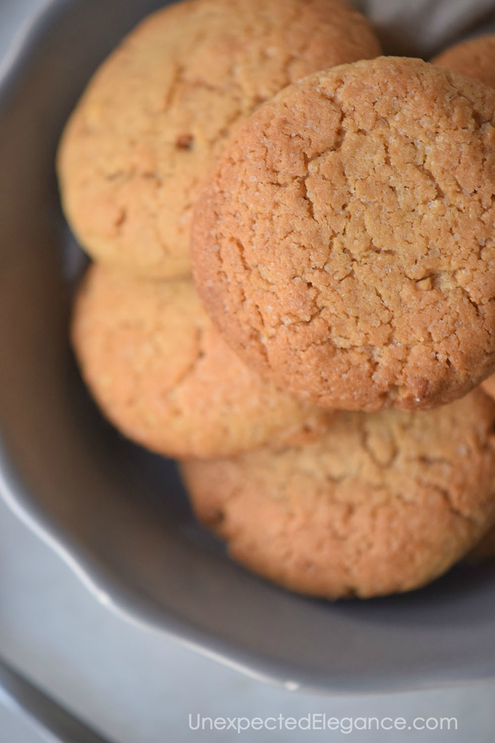 This recipe makes perfect SOFT peanut butter cookies!