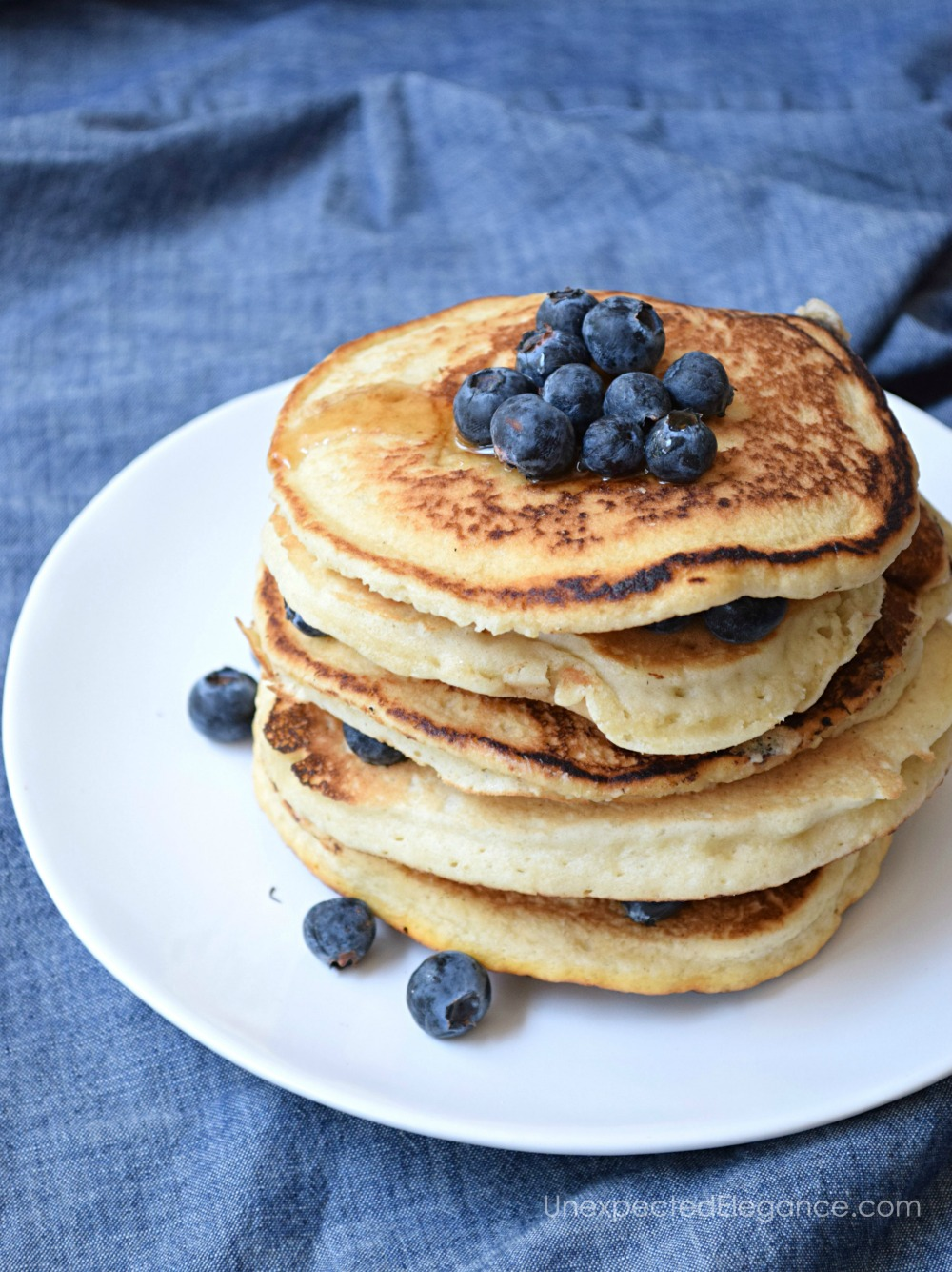 Gluten free and vegan pancakes! These are so delicious!