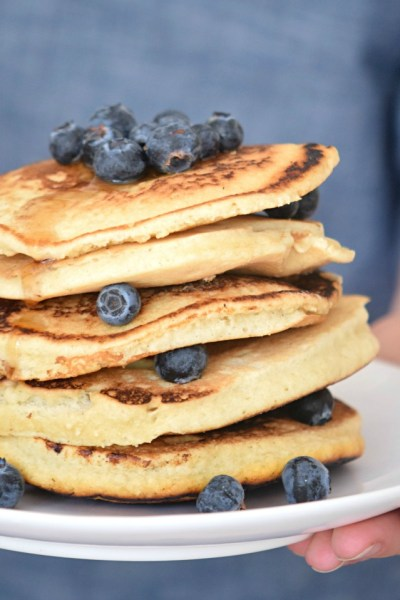 Vegan and Gluten Free Pancakes
