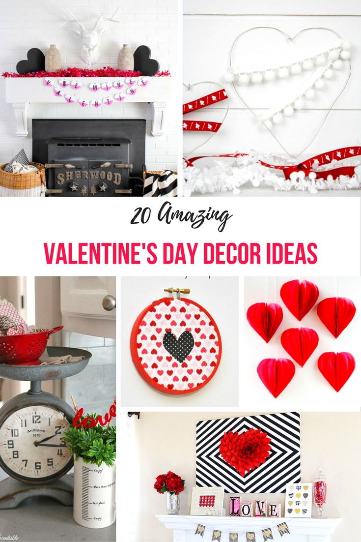 When we think of Valentine's Day decor, we all seem to have flashbacks to elementary school. However, check out these simple Valentine's Day decor ideas, for an understated look!