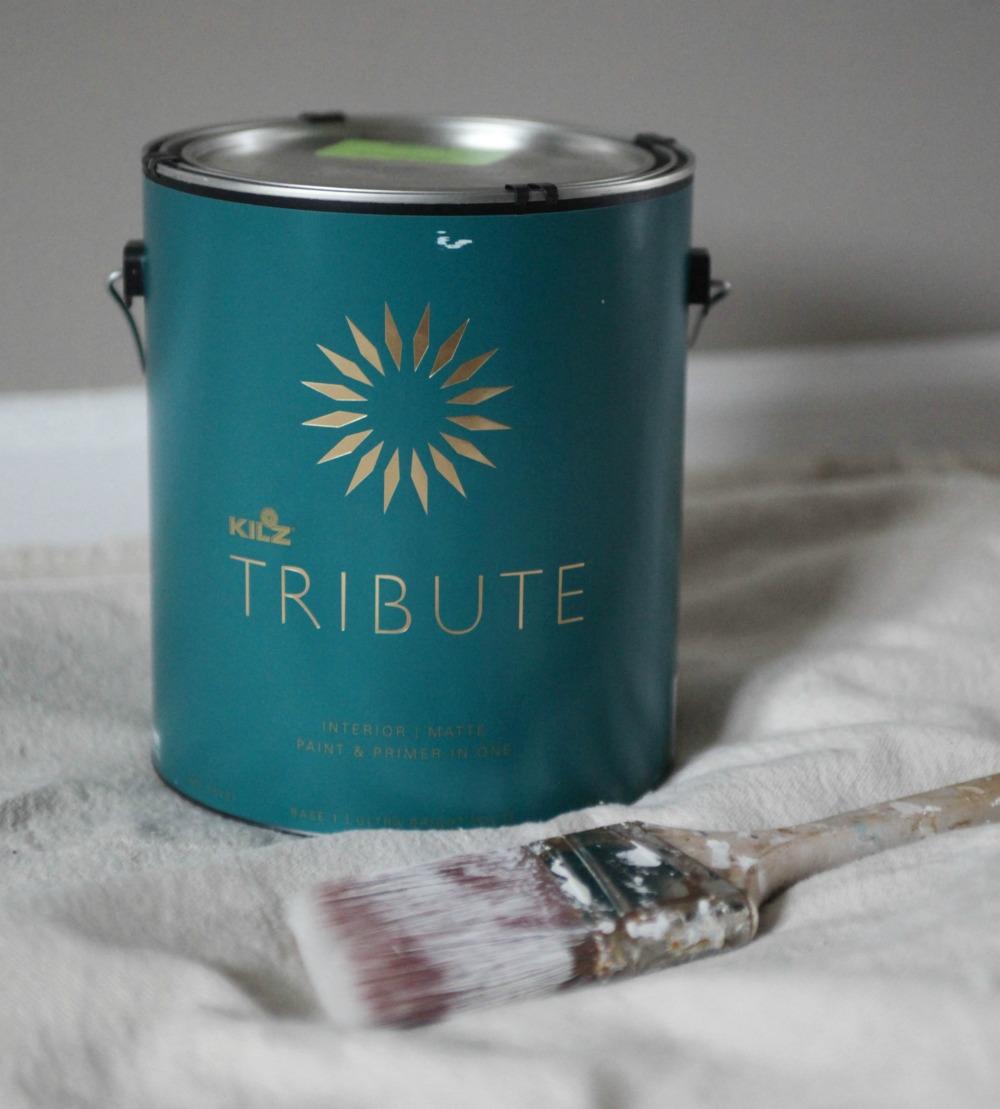 Kilz Tribute paint project
