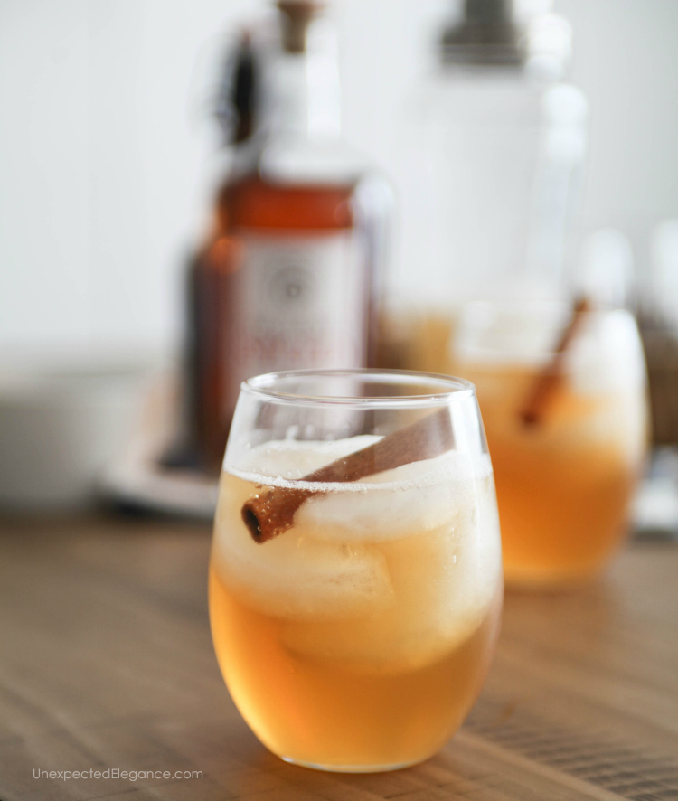 Pumpkin spiced rum cocktail unexpected elegance for Mix spiced rum with