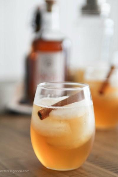 Pumpkin Spiced Rum Cocktail