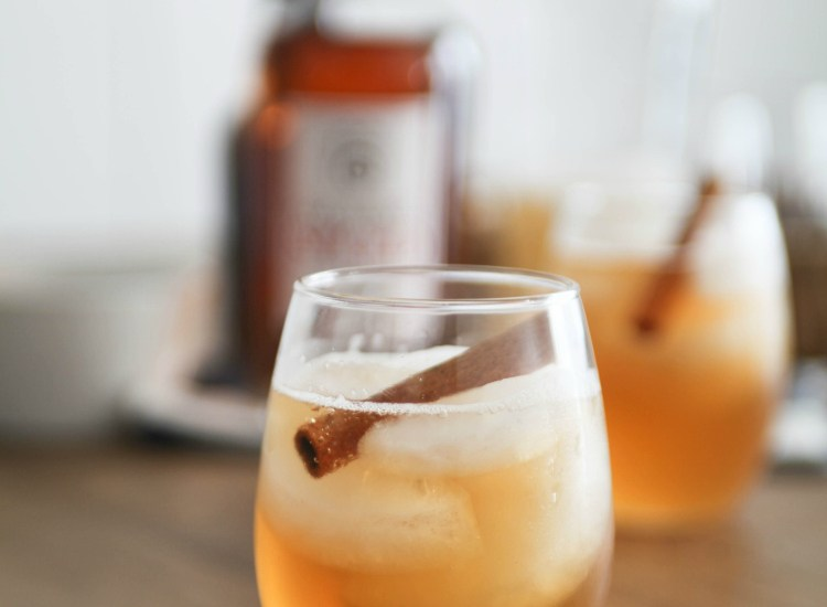 You will love this Pumpkin Spiced Rum cocktail recipe! It's perfect for the holidays and super easy to make with only 3 ingredients.