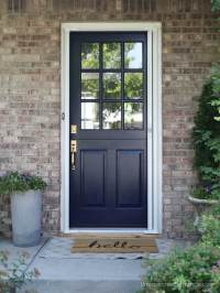Dutch Door with Screen that is Retractable-So you don't ...