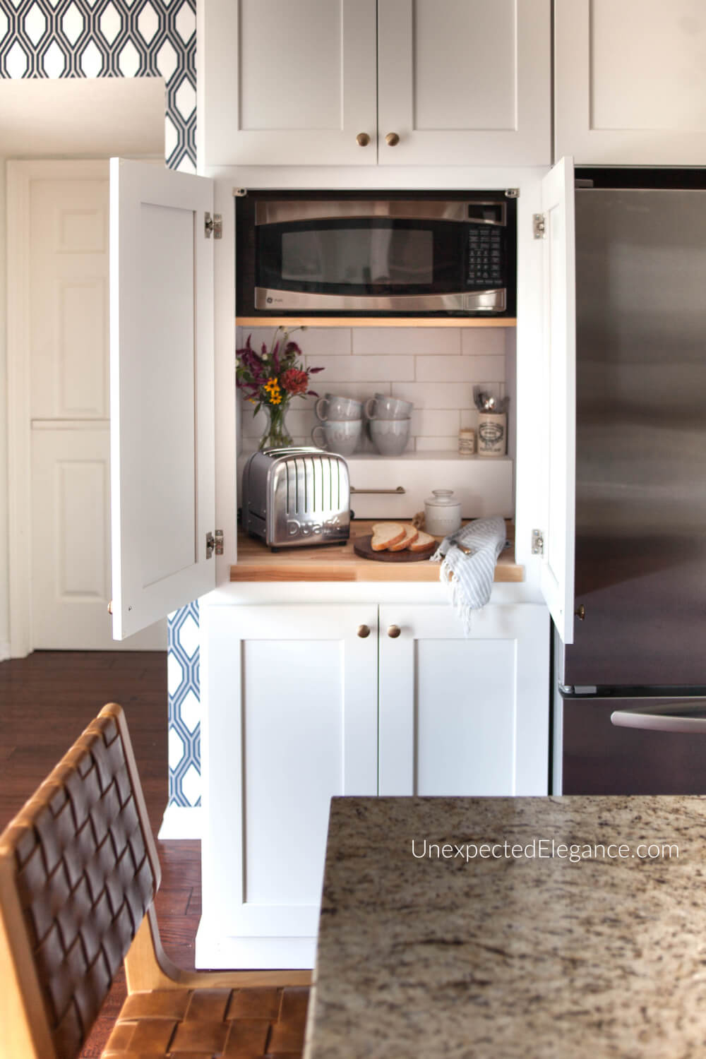 to modify a single wall oven cabinet