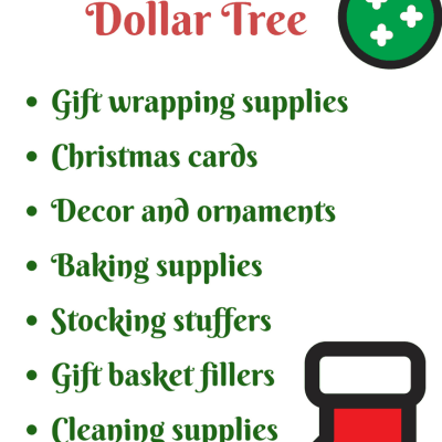 8 Surprisingly Helpful Dollar Store Christmas Items