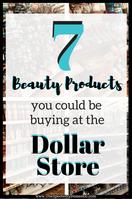 best Dollar Tree beauty products
