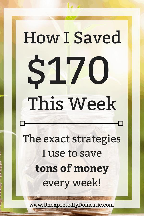 How I Saved Week 22