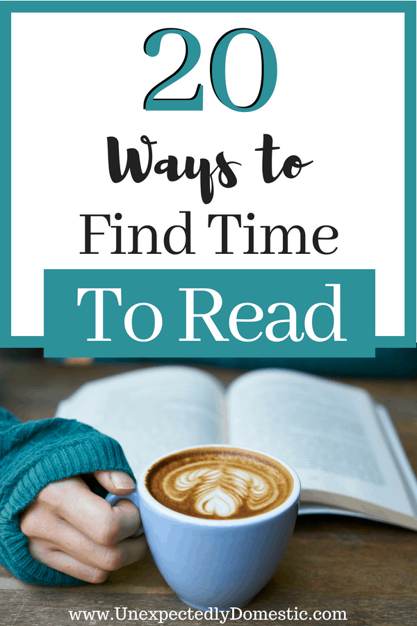 If you're wondering how busy people find time to read, and want to know how to find time to read for yourself, check out these 20 easy ways! Even you can make time for reading.