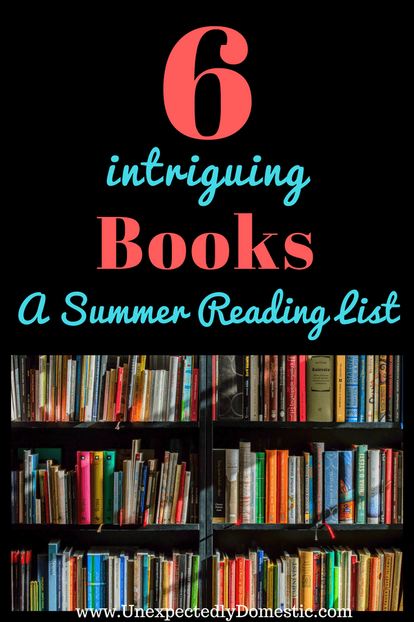Looking for a compelling summer reading list? Check out this July reading list, full of intriguing books to read this summer!
