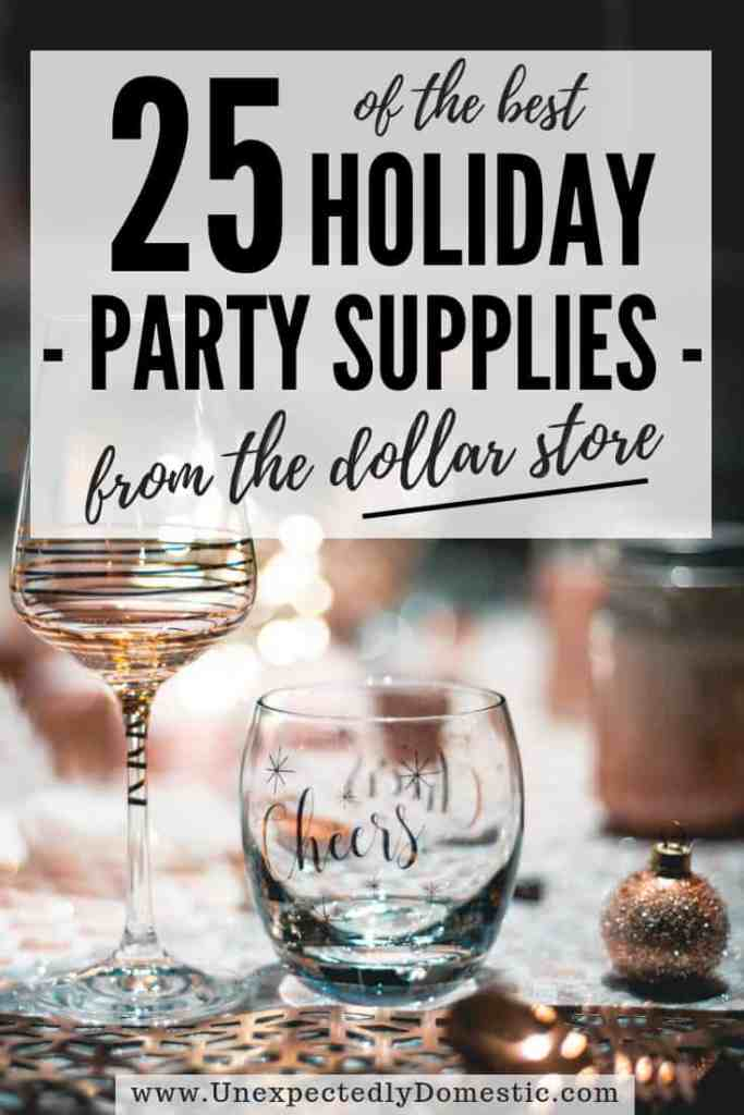 When throwing a party on a budget, look no further than this list of the best dollar store party supplies. Save money and time by shopping at Dollar Tree!