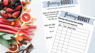 The Quickest and Easiest Way to Create a Grocery Budget (and stick to it!)