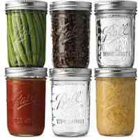 Ball Wide Mouth Mason Jars