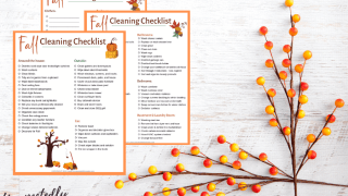 The Ultimate Fall Cleaning Checklist - How to Prep Your House for Fall