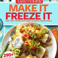 Freezer Meal Cookbook