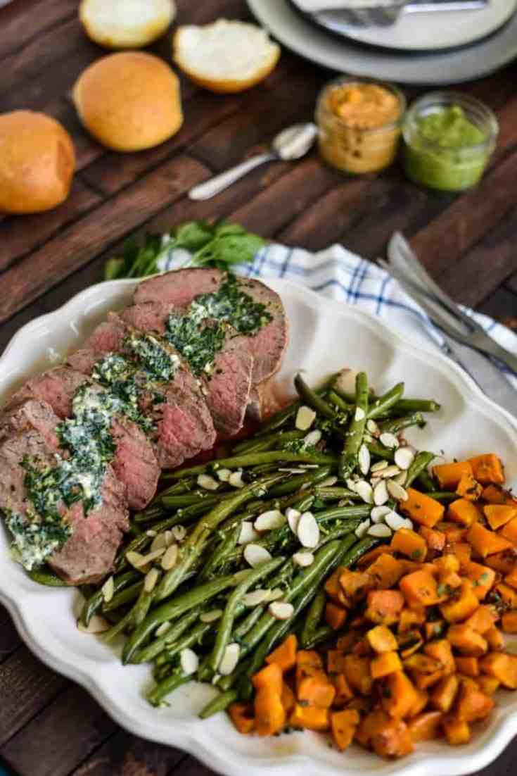 Herbed Steak Sheet Pan Dinner Family Meal Recipe