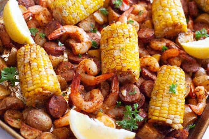 Sheet Pan Low Country Boil