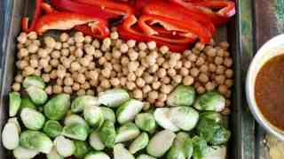 Moroccan Chickpea Sheet Pan