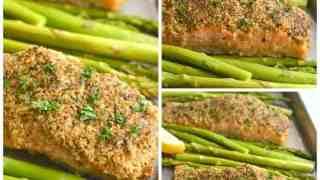 Crispy Oven Fried Salmon