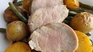 Maple Balsamic Pork Tenderloin