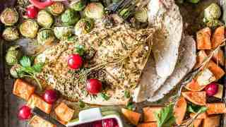 Easy and Beautiful Sheet Pan Thanksgiving Dinner