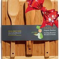 Bamboo Cutting Board Gift Set