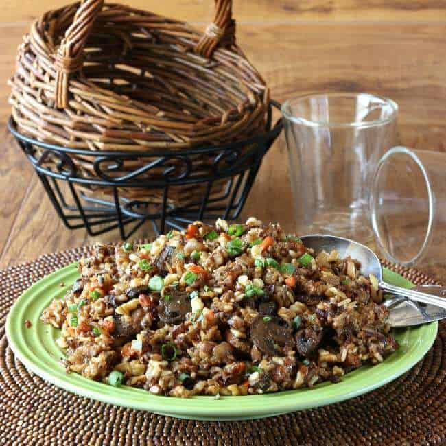 Slow Cooker Wild Rice