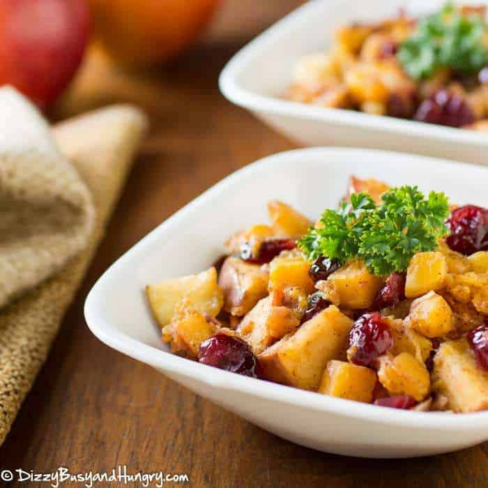 Slow Cooker Butternut Squash and Apples