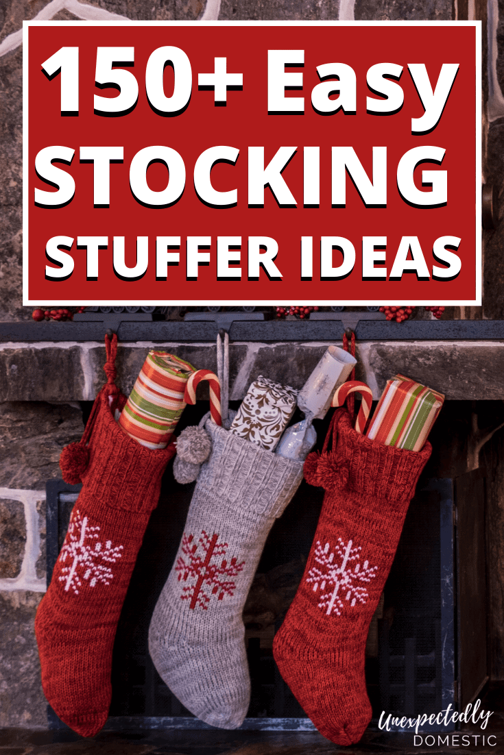 Tons of cheap stocking stuffer ideas! These stocking stuffers are perfect for men, women, teens, and tweens!
