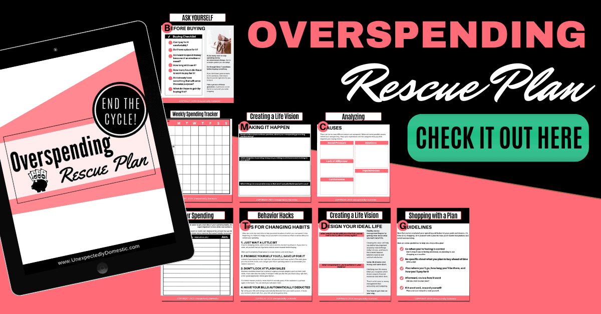How to use a spending log to keep track of your finances! This daily spending tracker printable will help you discover where your money is going so you can create a budget that actually works.