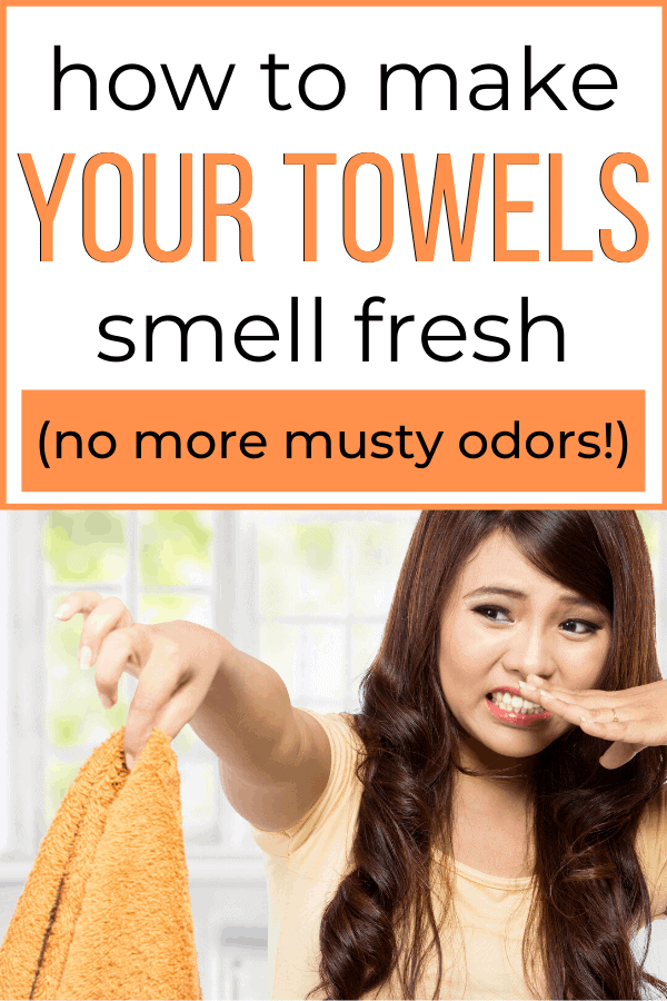 How To Get The Musty Smell Out Of Your Towels Once And For All