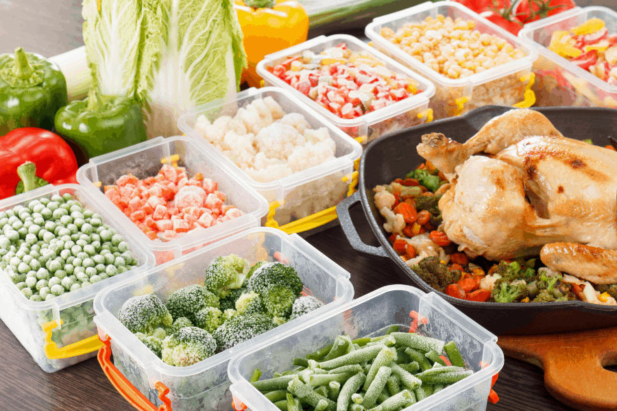 100+ foods that freeze well! This frozen food list is your essential guide freezer staples to keep on hand, PLUS which foods cannot be frozen.